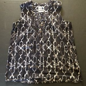 North Face sleeveless blouse